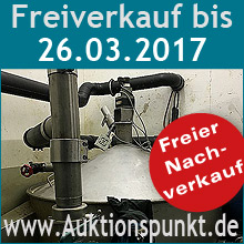 Industrie-Auktion am 08.09.2016