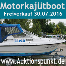 Auktion Motorboot 08.07.2016